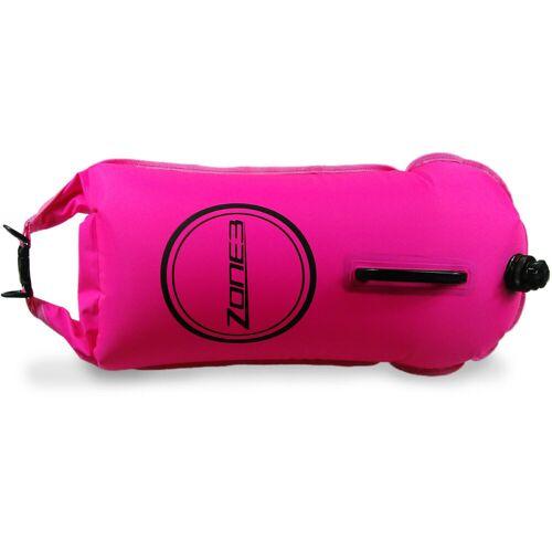 Zone3 Sicherheitsboje und Trockentasche - 28 Litres Rosa Pullbuoys