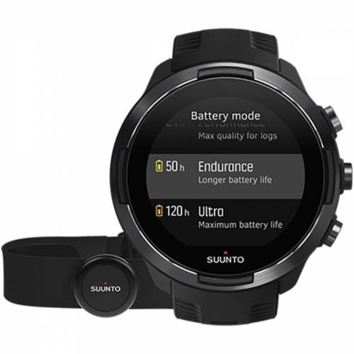 Suunto 9 Baro GPS Multisportuhr (Set) - One Size Schwarz   Sportuhren
