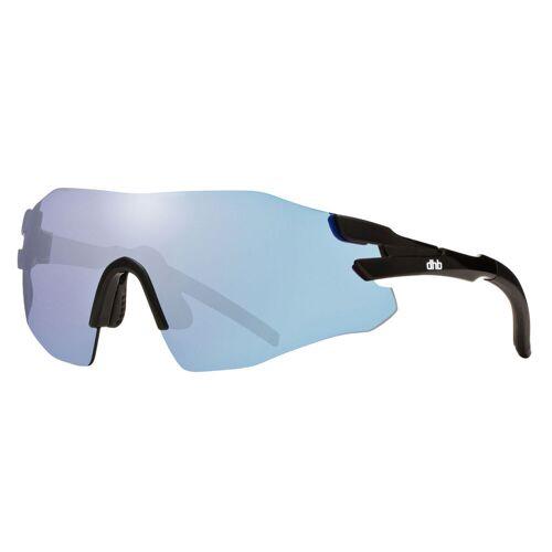 dhb Upsilon Sonnenbrille (rahmenlos) - One Size Schwarz/Schwarz