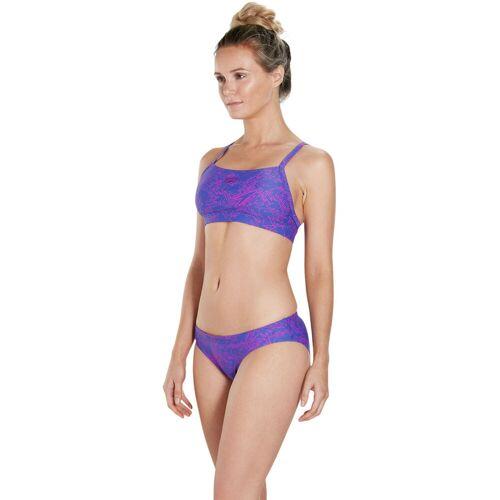 Speedo Boom Allover 2 Bikini - 28 Ultramarine/Diva   Bikinis