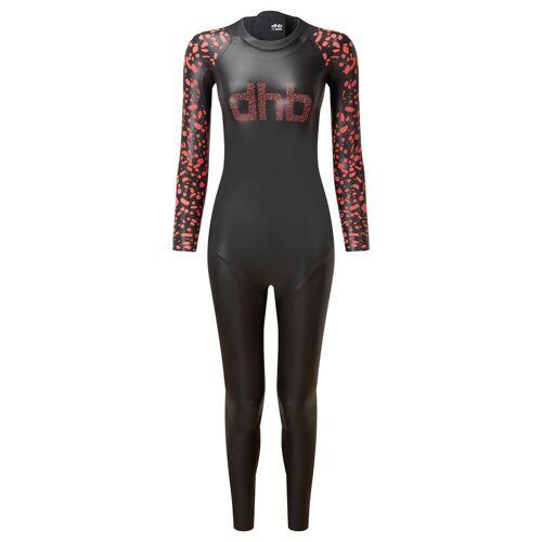 dhb Moda Neoprenanzug Frauen - XS Black / Pink   Neoprenanzüge