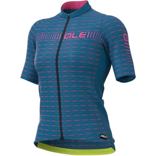Alé PRR Green Rennradtrikot Frauen - M Azzure Blue/ Fluro P   Trikots