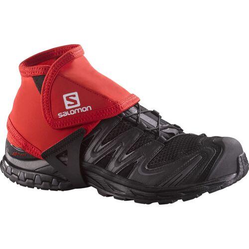 Salomon - Trail Gamaschen Low (F/S 16) - L Rot   Einlegesohlen