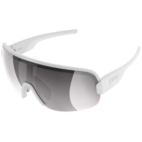 POC Aim Sonnenbrille - One Size Weiß/Silber   Sonnenbrillen