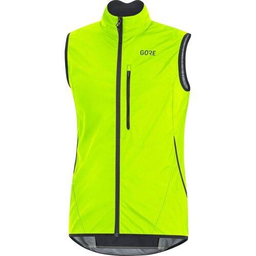 Gore Wear C3 Windstopper Light Weste - S Neon Yellow/Black   Westen