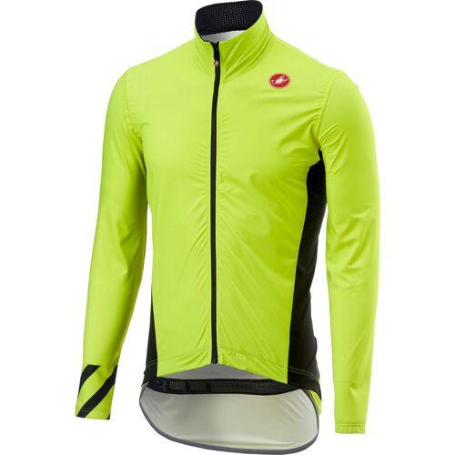 Castelli Pro Fit Light Regenjacke - XL  Yellow Fluo    Jacken
