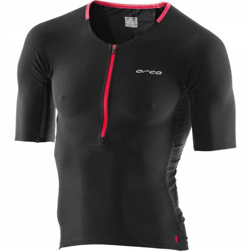 Orca 226 Perform Triathlontrikot - S Schwarz / Orange   Triathlontops