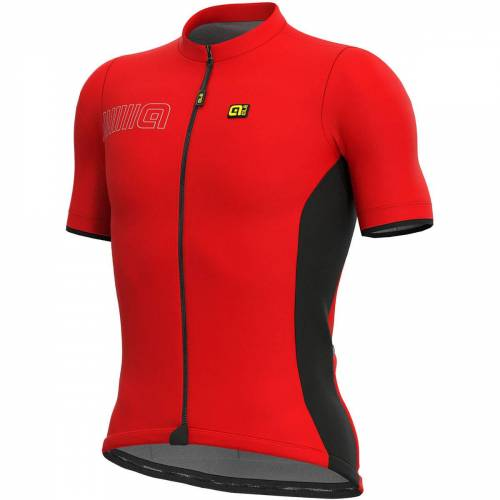 Alé Solid MC Colour Block Radtrikot - L Rot   Trikots