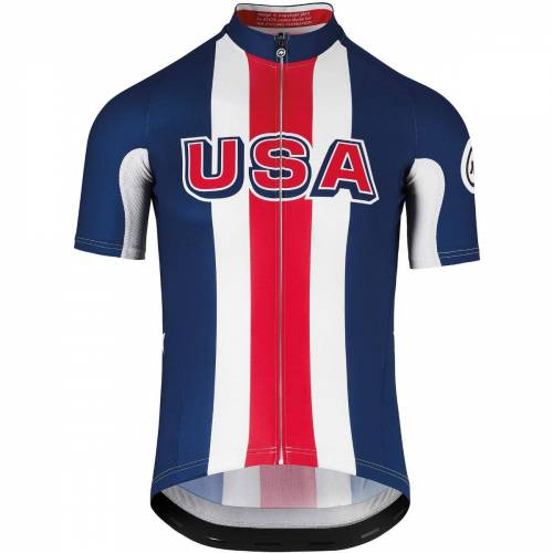 Assos USA Cycling Radtrikot (kurzarm) - M Multi   Trikots