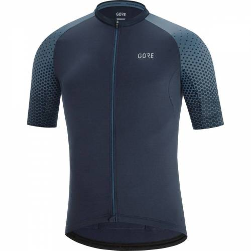 Gore Wear C5 Cancellara Radtrikot - S Orbit Blue/Deep Wate   Trikots