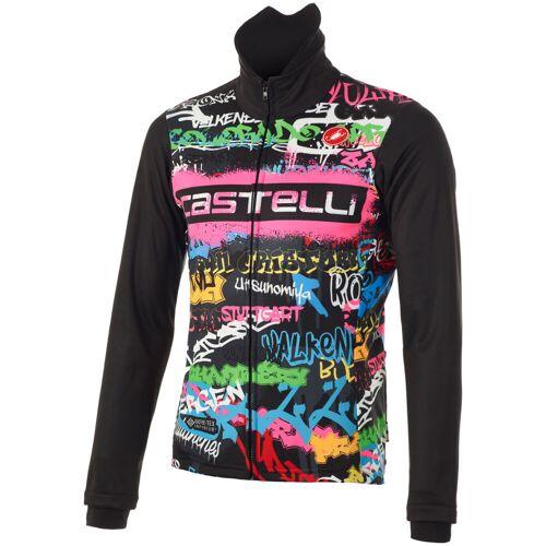 Castelli Graffiti Windstopper Radjacke - M Multi   Jacken