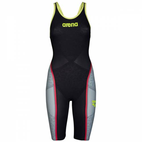 Arena Carbon Ultra Badeanzug - 22 Dark Grey/Yellow