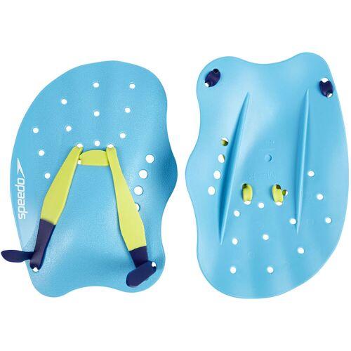 Speedo Tech Handpaddel - L Blue / Green   Paddel