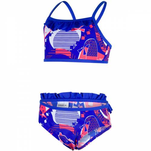 Speedo Essential Bikini  - 3-4 Years Navy / Pink   Bikinis