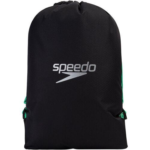 Speedo Schwimmbadtasche - One Size Schwarz / Grün   Badetaschen
