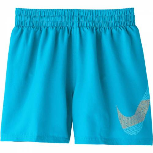 Nike Mash Up 4 Volley Badeshorts Jungen - L Lt Blue Fury   Badeshorts