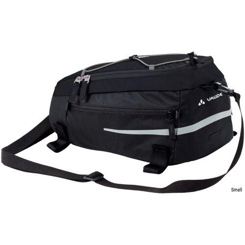 Vaude Silkroad Gepäckträgertasche - Small Schwarz   Seitentaschen
