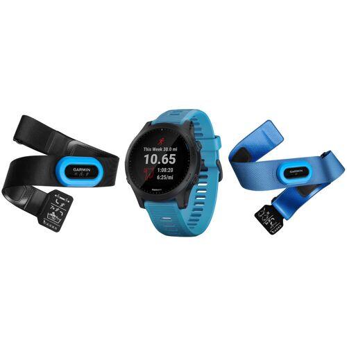 Garmin Forerunner 945 Triathlonset - One Size Blau   Sportuhren