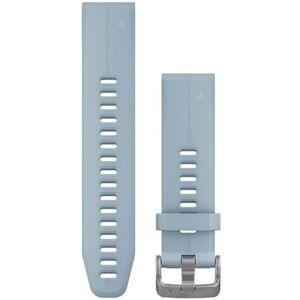 Garmin QuickFit Silikonarmband (20 mm) - Small Medium Seafoam Blue