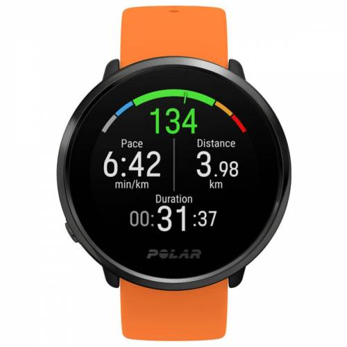 Polar Ignite GPS Uhr (mit Silikonarmband) - M-L Orange   Sportuhren