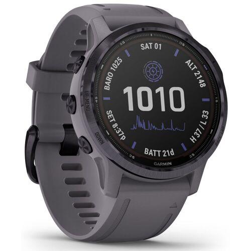Garmin Fenix 6S Pro Solar GPS Uhr - 42mm x 42mm x 14.2mm   Sportuhren
