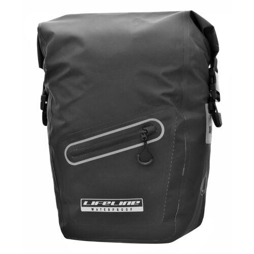 LifeLine Commute Rolltop Gepäckträgertasche (wasserdicht) - 22L