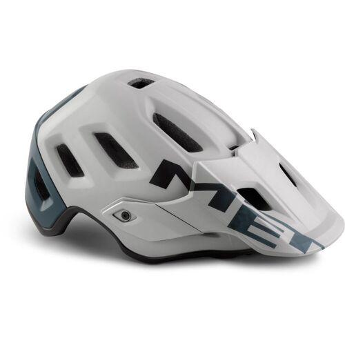 MET Roam MTB Fahrradhelm - M Grey/Green   Helme