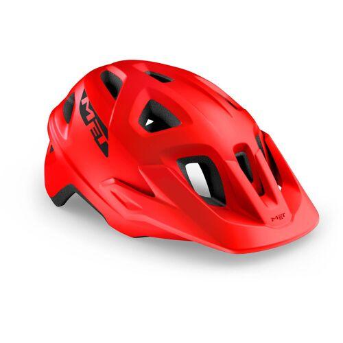 MET Echo Fahrradhelm - S/M Red/Matte   Helme