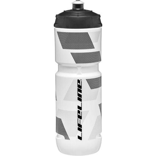 LifeLine Trinkflasche (800 ml) - 800ml White / Black   Trinkflaschen