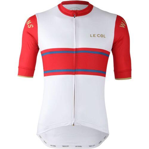 Le Col By Wiggins Sport Trikot (weiß/rot) - XXL Red/Blue   Trikots