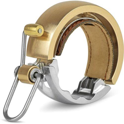 Knog OI Luxe Fahrradklingel - Large Brass   Fahrradklingeln