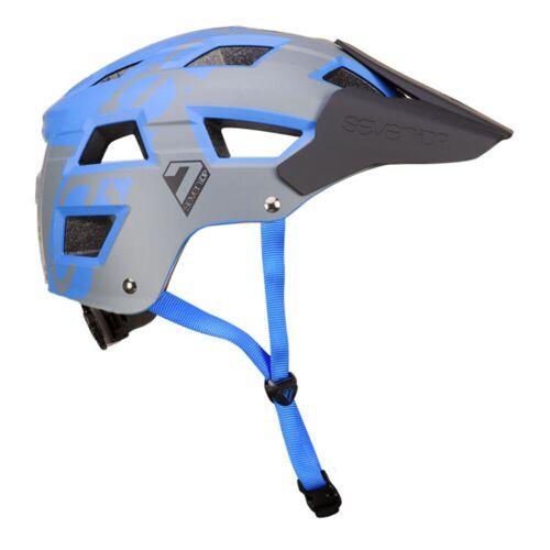 7 iDP M5 Fahrradhelm - L/XL Blau / Grau   Helme