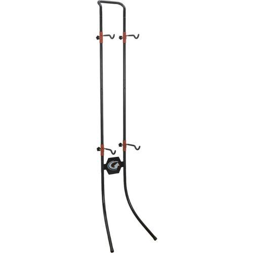 Gear Up Lean Machine Gravity Fahrradständer - 2 Bike Schwarz