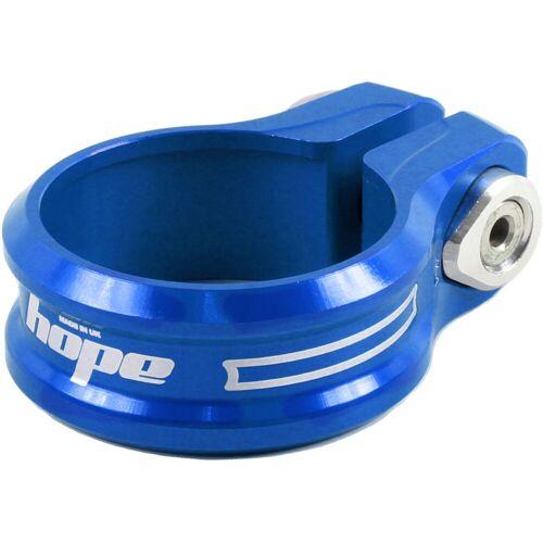 Hope - Sattelstützenklemme (Einzelschraube) - 34.9mm Blau
