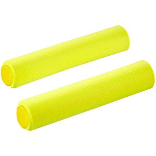 Supacaz Siliconez SL Lenkergriffe - 34mm Neon Yellow   Griffe