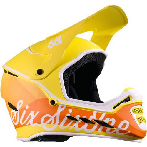 SixSixOne Reset Fahrradhelm - S Geo Citrus   Helme