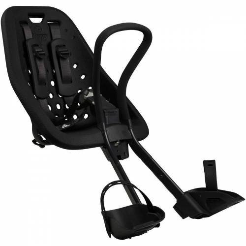 Thule Yepp Mini Kindersitz (Vorbau) - 22kg max. Schwarz   Kindersitze