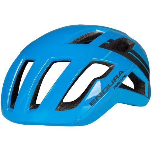 Endura FS260 Pro Fahrradhelm - L-XL Hi-Viz Blue   Helme
