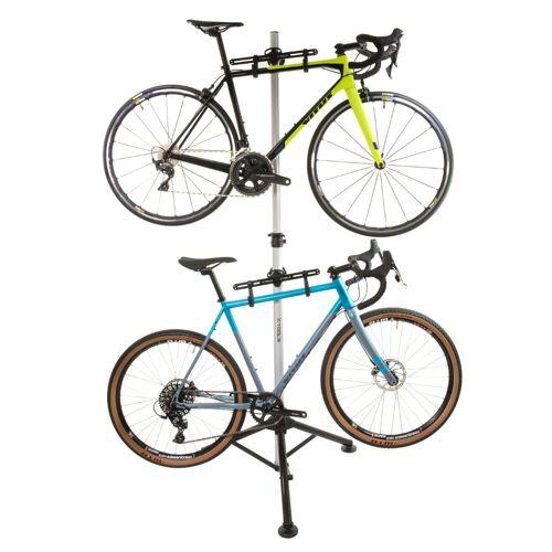 LifeLine X-Tools Dreibein Fahrradständer (für zwei Fahrräder)