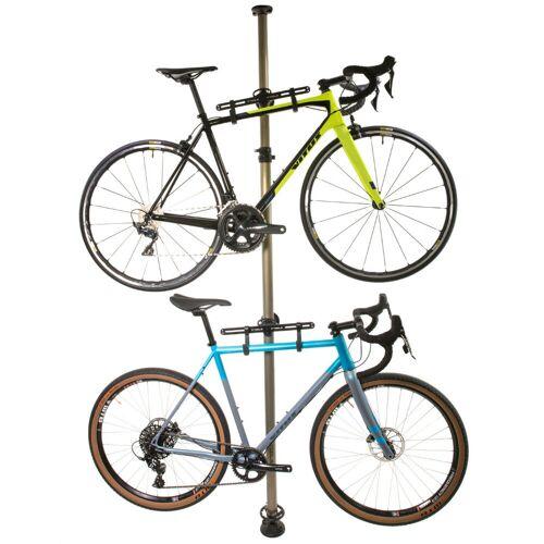 LifeLine Fahrradständer (für 2 Fahrräder, Boden-Decken-Befestigung)