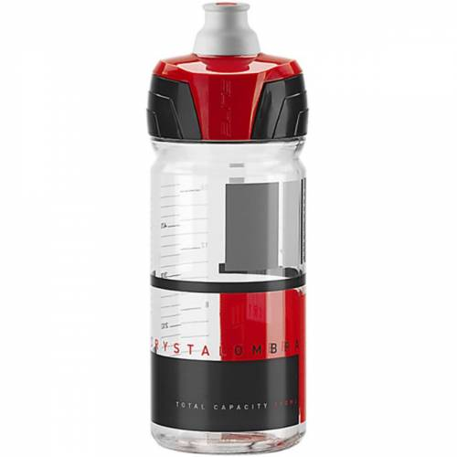 Elite Crystal Ombra Membran Trinkflasche (550 ml) - 500ml Clear/Red