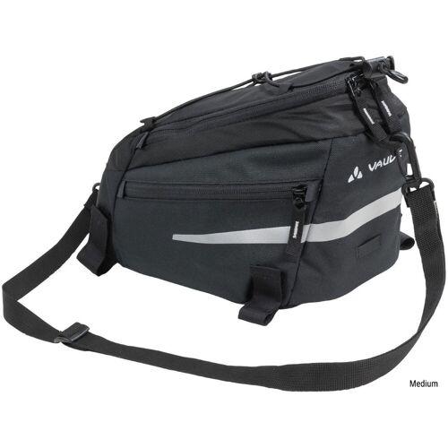 Vaude Silkroad Gepäckträgertasche - Medium Schwarz   Seitentaschen