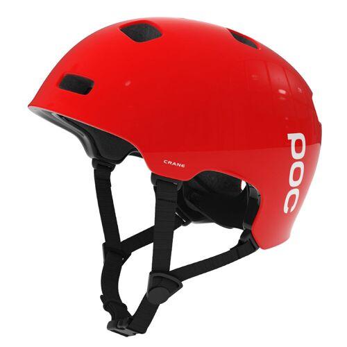 POC Crane Fahrradhelm - XS/S Rot   Helme