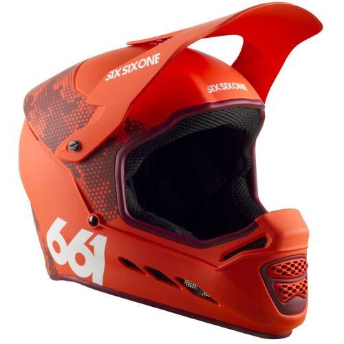 SixSixOne Reset Fahrradhelm (MIPS) - XL Digi Orange   Helme