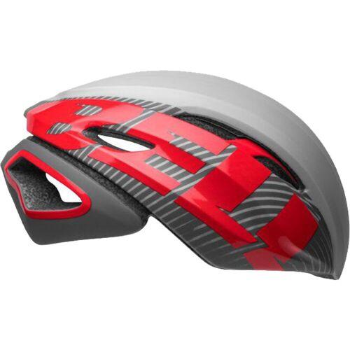 Bell Z20 Aero Fahrradhelm (MIPS) - S Gray/Crimson MY19   Helme