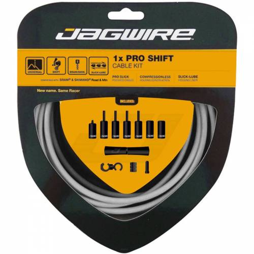 Jagwire Pro 1x Schaltzugset - Shimano Weiß   Schaltzüge