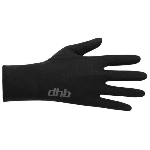 dhb Merino Unterziehhandschuhe - XL Schwarz   Handschuhe