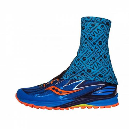 Montane VIA Sock-It Gamasche - S-M Blue Spark/Black   Gamaschen