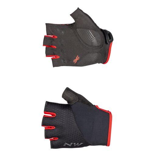 Northwave Fast Radhandschuhe (kurz) - L Schwarz/Rot   Handschuhe