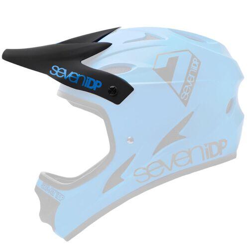 7 iDP M1 Helmvisier - One Size Schwarz/Blau   Ersatzteile für Helme